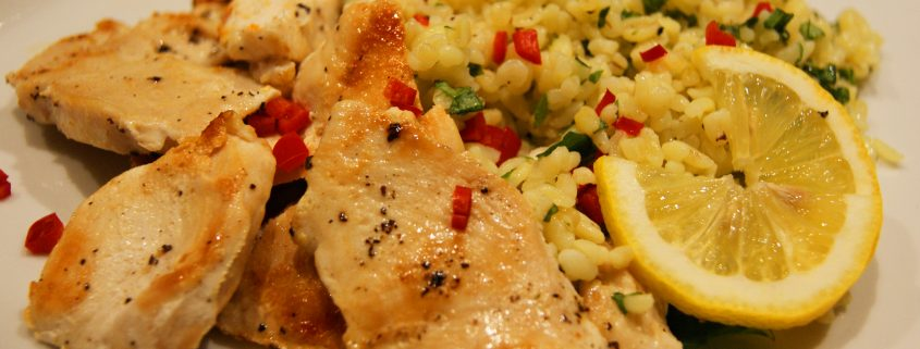 Kylling og Bulgur