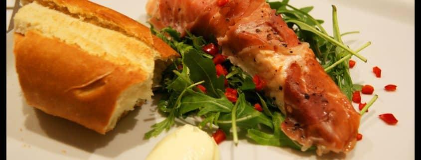 Laks og Salat