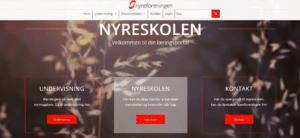 Forsiden af Nyreskole.dk