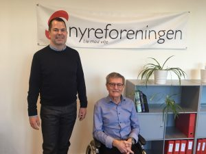 Direktør Michael Buksti og Formand Jan Rishave